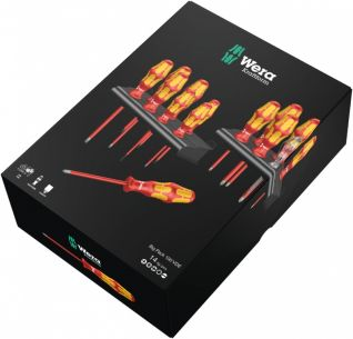 Набор отвёрток WERA Kraftform big pack vde WE-105631